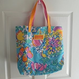 Lily Pulitzer for Estee Lauder bag